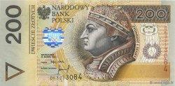 200 Zlotych POLOGNE  1994 P.177a NEUF