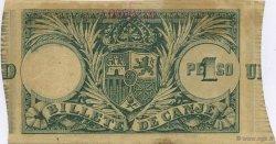 1 Peso PORTO RICO  1895 P.07b SUP
