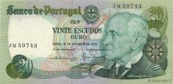 20 Escudos PORTUGAL  1978 P.176a pr.NEUF