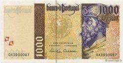 1000 Escudos PORTUGAL  1996 P.188a NEUF