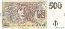 500 Korun RÉPUBLIQUE TCHÈQUE  1997 P.20 NEUF