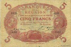 5 Francs ÎLE DE LA RÉUNION  1923 P.14 TTB