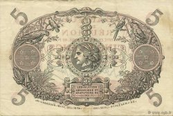 5 Francs ÎLE DE LA RÉUNION  1944 K.404h SUP