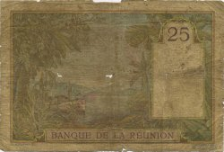 25 Francs ÎLE DE LA RÉUNION  1940 P.23 AB