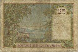 25 Francs ÎLE DE LA RÉUNION  1944 P.23 B+