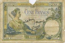 100 Francs ÎLE DE LA RÉUNION  1944 K.413e AB