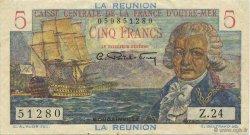 5 Francs Bougainville ÎLE DE LA RÉUNION  1946 P.41a SUP