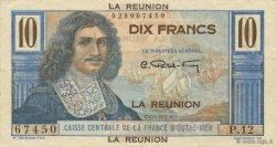 10 Francs Colbert ÎLE DE LA RÉUNION  1946 P.42a SUP