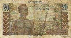 20 Francs Emile Gentil ÎLE DE LA RÉUNION  1946 P.43a TB