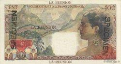 100 Francs La Bourdonnais ÎLE DE LA RÉUNION  1946 P.45s pr.NEUF