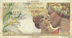 1000 Francs Union française ÎLE DE LA RÉUNION  1946 K.438 TTB