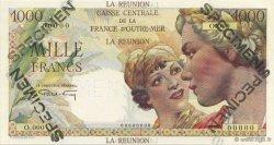1000 Francs Union française ÎLE DE LA RÉUNION  1946 K.438.SP1 pr.NEUF