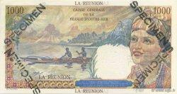 1000 Francs Union française ÎLE DE LA RÉUNION  1946 P.47s pr.NEUF