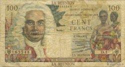 100 Francs La Boudonnais ÎLE DE LA RÉUNION  1960 P.49a pr.TB