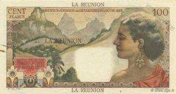 100 Francs La Bourdonnais ÎLE DE LA RÉUNION  1960 P.49s SUP