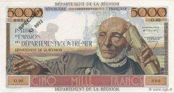 5000 Francs Schoelcher ÎLE DE LA RÉUNION  1960 K.441.SP1 SPL