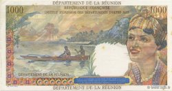 1000 Francs Union française ÎLE DE LA RÉUNION  1964 P.52a SPL