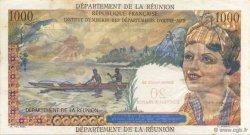 20 NF sur 1000 Francs Union française ÎLE DE LA RÉUNION  1967 K.446a SUP