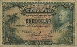 1 Dollar SARAWAK  1935 P.20 TB