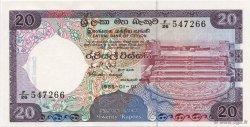 20 Rupees SRI LANKA  1985 P.093a NEUF