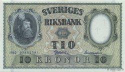 10 Kronor SUÈDE  1962 P.43i NEUF