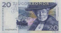 20 Kronor SUÈDE  1991 P.61a SPL