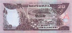 20 Emalangeni SWAZILAND  2004 P.30b NEUF