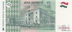1 Somoni TADJIKISTAN  1999 P.14a NEUF