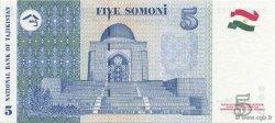 5 Somoni TADJIKISTAN  1999 P.15a NEUF