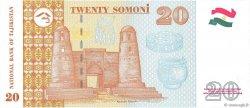 20 Somoni TADJIKISTAN  1999 P.17a NEUF