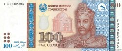 100 Somoni TADJIKISTAN  1999 P.19a NEUF