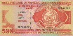 500 Vatu VANUATU  2006 P.12 NEUF