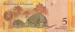 5 Bolivares VENEZUELA  2007 P.089 NEUF