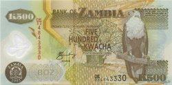 500 Kwacha ZAMBIE  2005 P.43d NEUF