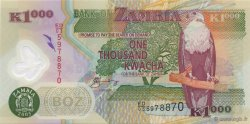 1000 Kwacha ZAMBIE  2005 P.44d NEUF