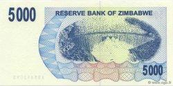 5000 Dollars ZIMBABWE  2007 P.45 NEUF