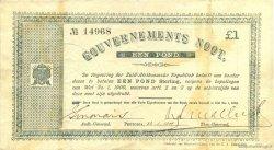1 Pond AFRIQUE DU SUD Prétoria 1900 P.054b TTB
