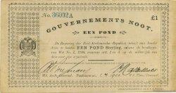 1 Pond AFRIQUE DU SUD Pietersburg 1901 P.060c TTB+