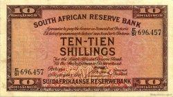 10 Shillings AFRIQUE DU SUD  1941 P.082d TB+