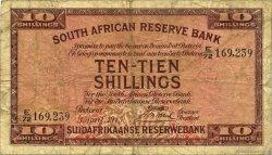 10 Shillings AFRIQUE DU SUD  1945 P.082d B