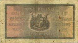 1 Pound AFRIQUE DU SUD  1934 P.084c TB