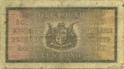 1 Pound AFRIQUE DU SUD  1935 P.084c TB