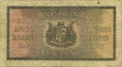 1 Pound AFRIQUE DU SUD  1935 P.084c TB+