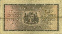 1 Pound AFRIQUE DU SUD  1942 P.084e TTB