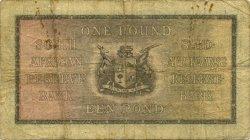 1 Pound AFRIQUE DU SUD  1943 P.084e B+