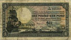 1 Pound AFRIQUE DU SUD  1945 P.084f TB