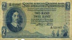 2 Rand AFRIQUE DU SUD  1962 P.104b TB