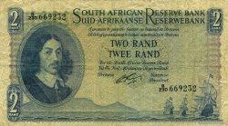 2 Rand AFRIQUE DU SUD  1962 P.104b pr.TTB