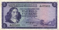 5 Rand AFRIQUE DU SUD  1967 P.111b TTB+