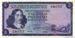 5 Rand AFRIQUE DU SUD  1966 P.112a SUP
